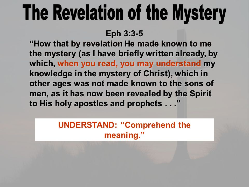Ephesians 3:10-11 To the intent that now the manifold wisdom of God might be made known by the church to the principalities and powers in the heavenly places, according to the eternal purpose which He accomplished in Christ Jesus our Lord.