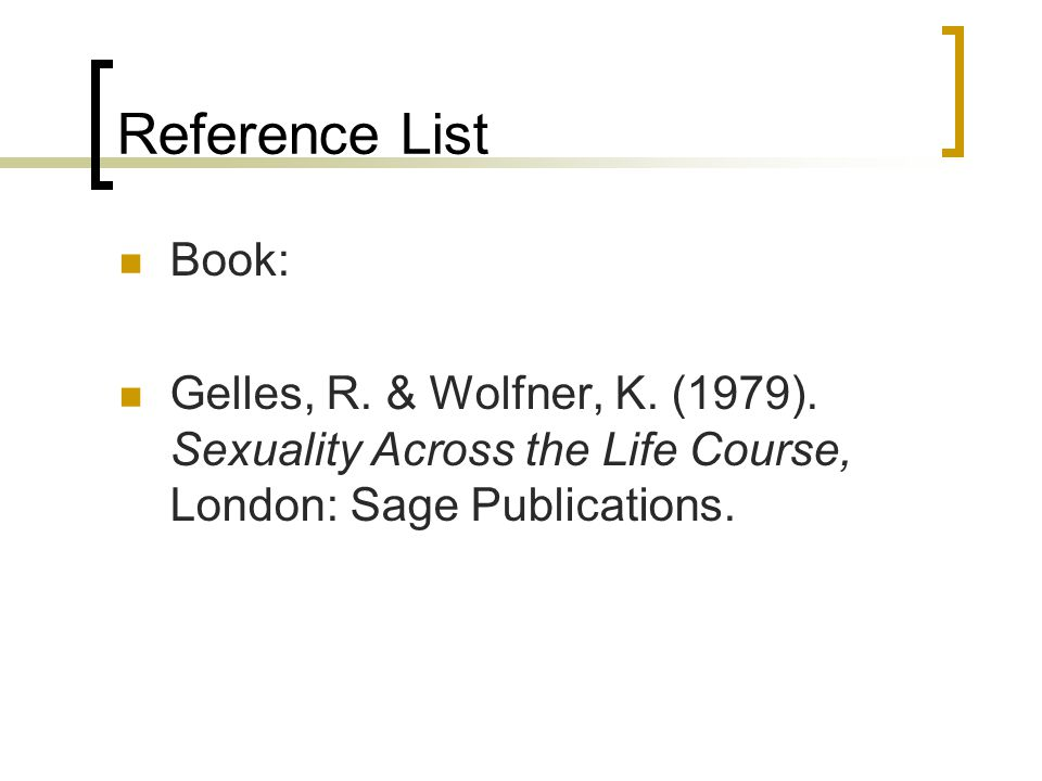 Reference List Chapter in a book: Beccaria, C.(2006).