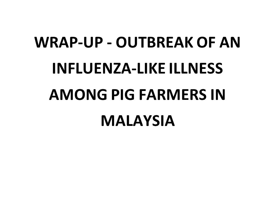 Question 1: Briefly describe the outbreak in terms of person, place, and time.