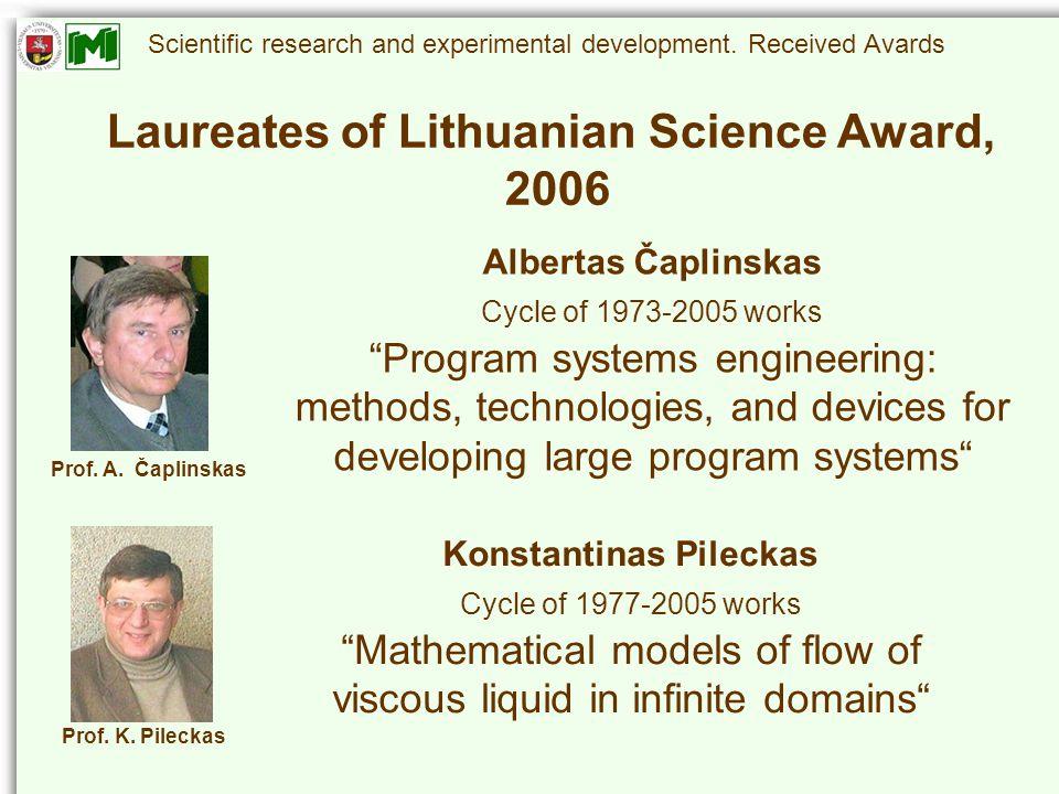 Scientific research and experimental development.