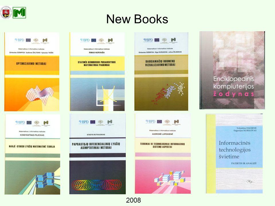 New Books 2008