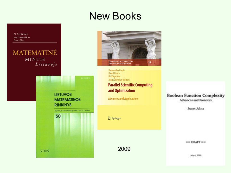 New Books 2009