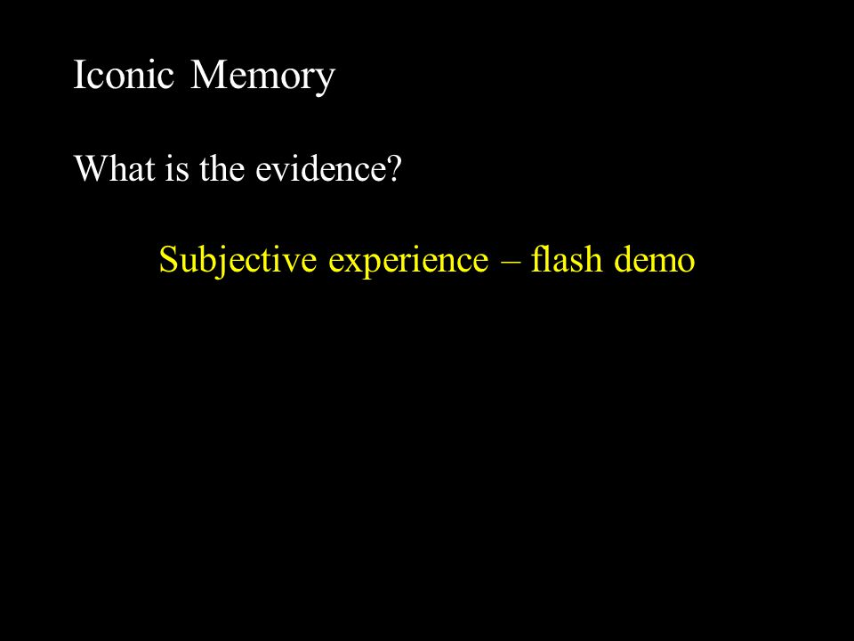 Demo 1 Interference basic effect is that performance decreases Proactive interference (&, letter) interference comes before the stimulus in this paradigm called a forward mask Retroactive interference (letter, &) interference comes after the stimulus in this paradigm called a backward mask