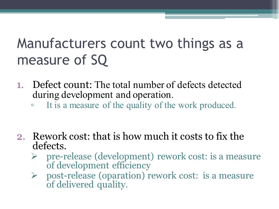 4.Briefly explain McCall's quality factors and quality criteria.