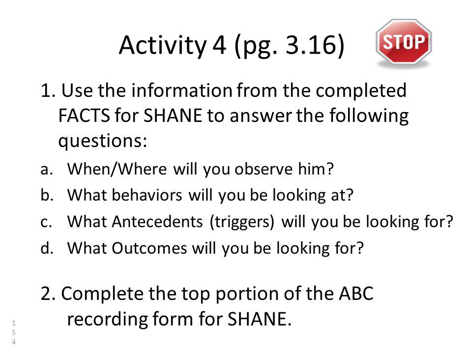 Activity 4 (pg. 3.16) 1.