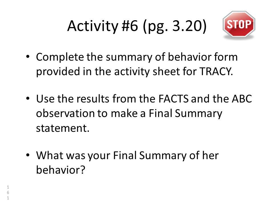 Activity #6 (pg.