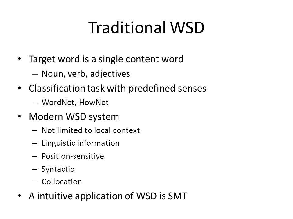 PSD System (2) Result: better translation on all test sets IWSLT 2006 datasetNIST 2004 test set