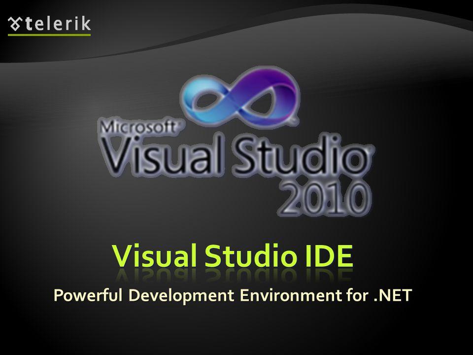 Powerful Development Environment for.NET