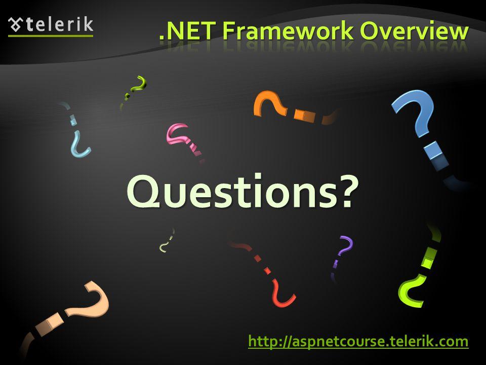 Questions? http://aspnetcourse.telerik.com