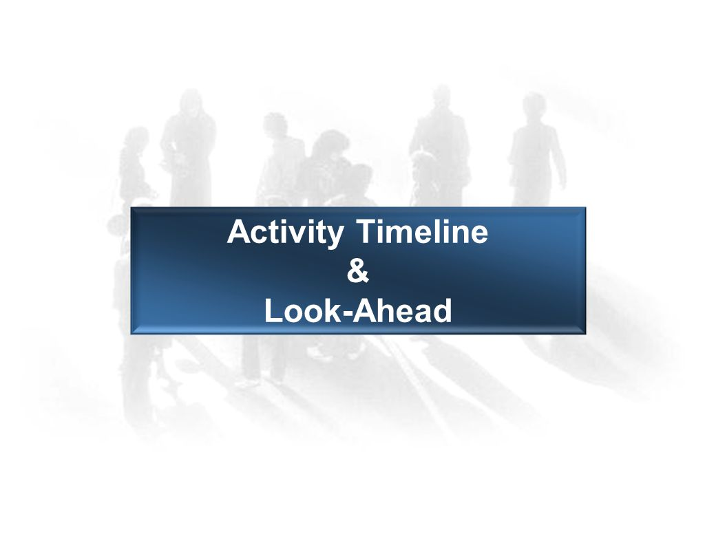 Activity Timeline & Look-Ahead