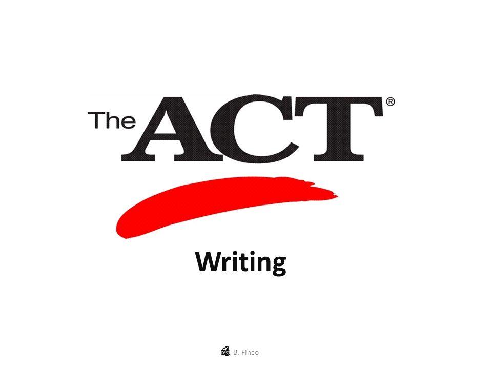 Writing B. Finco