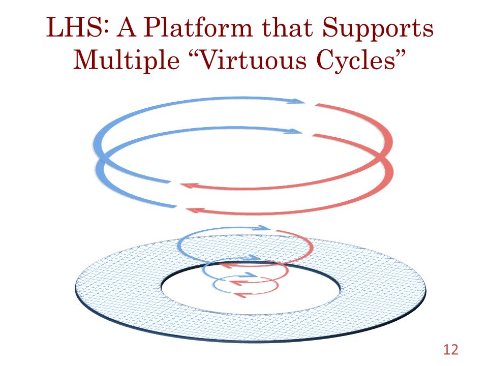 LHS: A Platform that Supports Multiple Virtuous Cycles 12