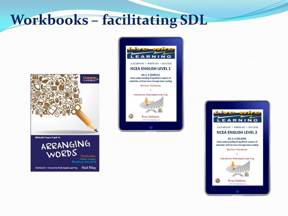 Workbooks – facilitating SDL
