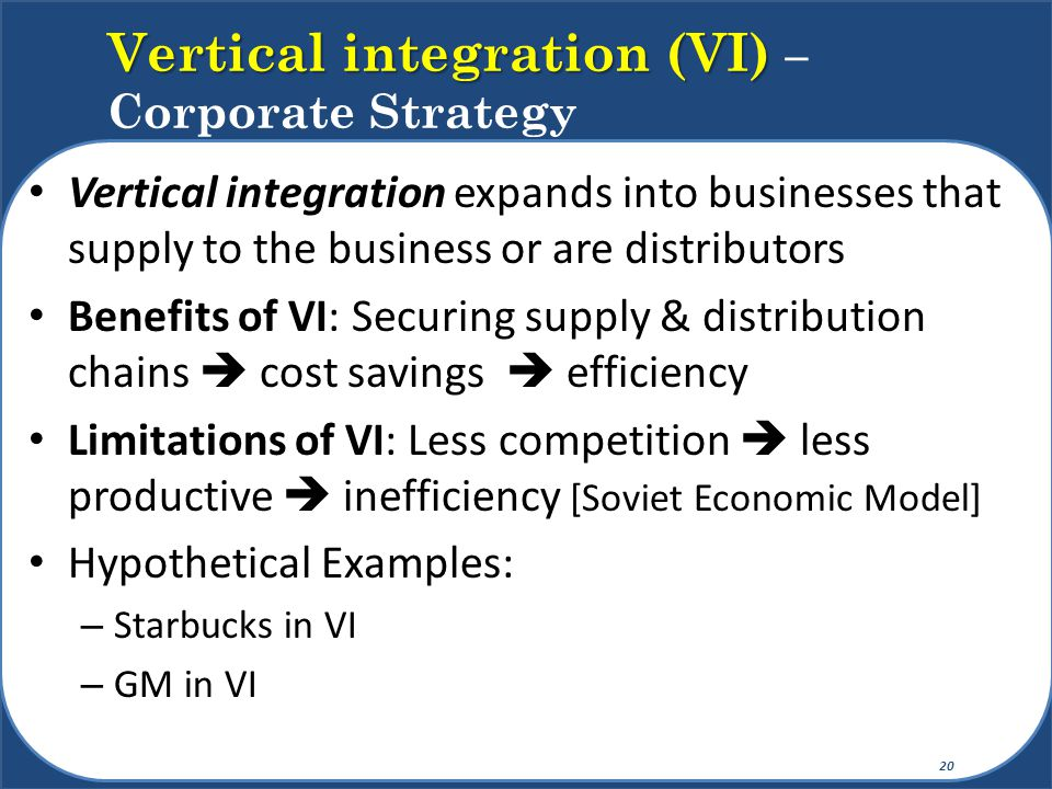 Strategy within the business units (SBU): How do we compete.