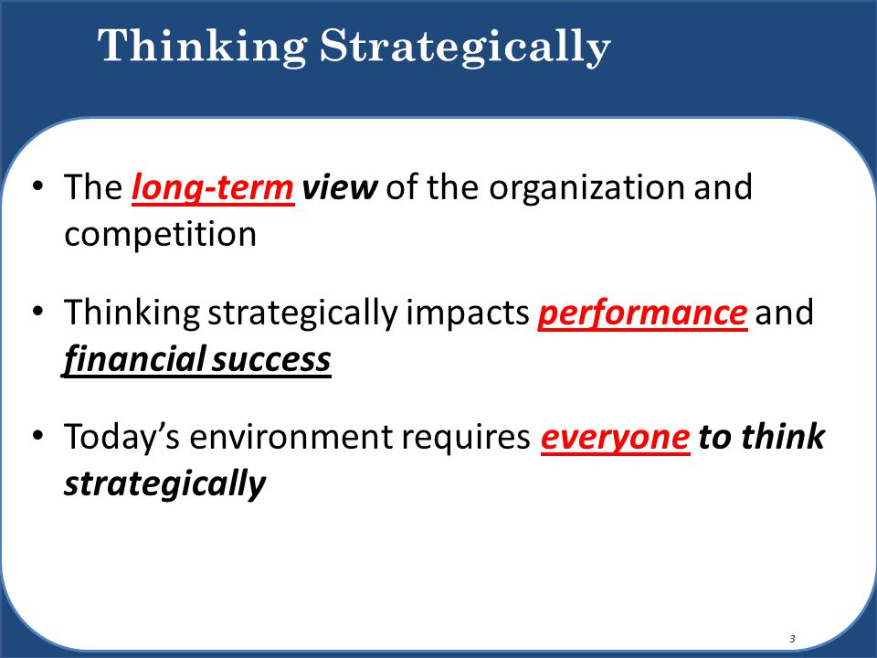 The set of decisions and actions used to formulate and execute strategies that will provide competitively superior fit (= competitive advantage) between the organization and its environment to achieve organizational goals Strategic Management 4