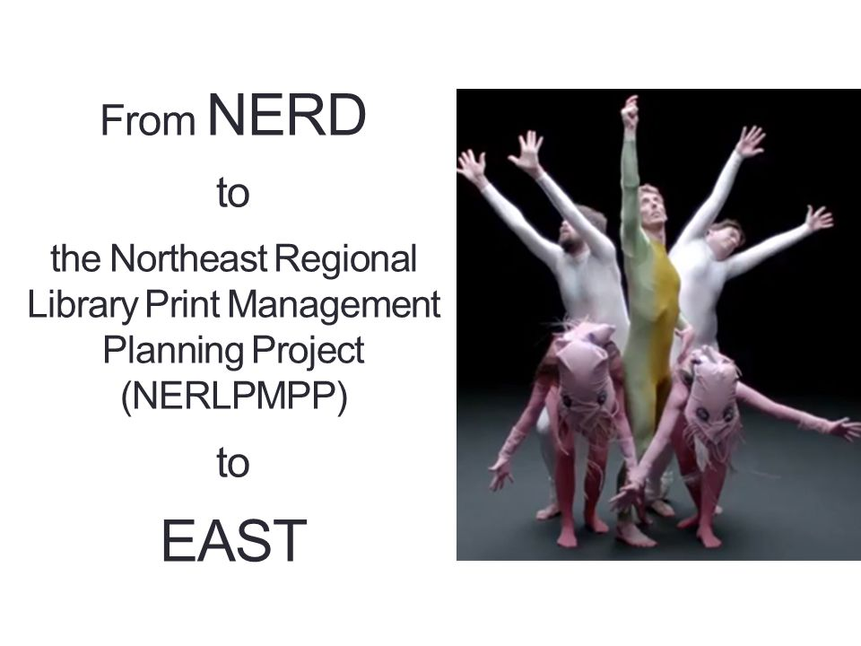 From NERD to EAST Recap: What has happened so far Current status What's Next