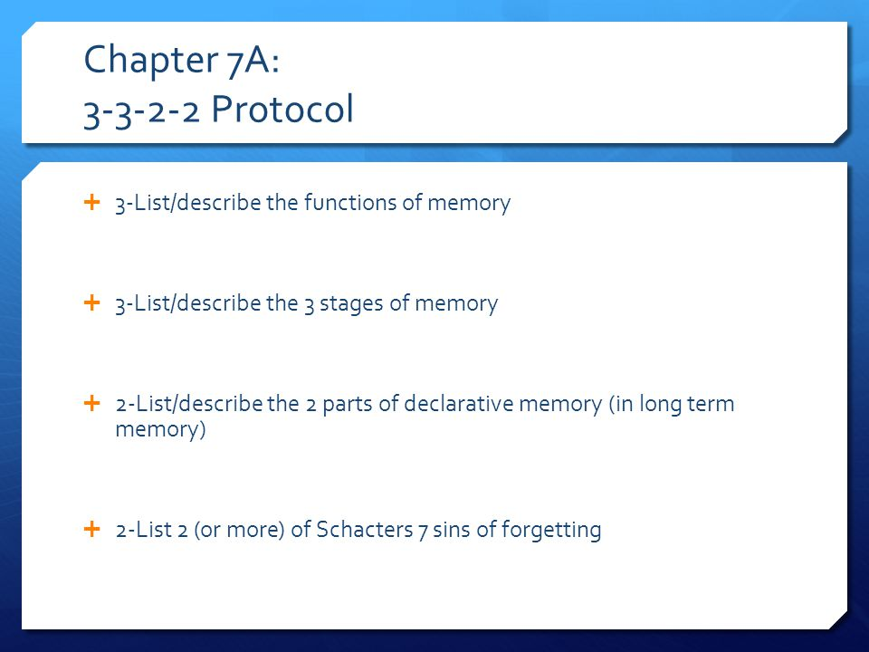 Chapter 7B: 3-2-1 Protocol  3-list/describe 3 types of bias  2-List/describe the 2 types of concepts (dealing with language and thinking)  1-Describe 1 way of problem solving