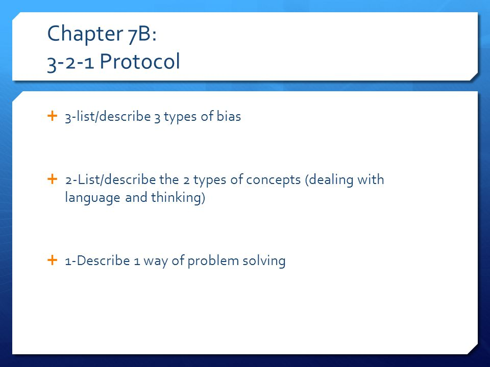 Chapter 8: 4-2-2 Protocol  4-List/describe the 4 components of emotion  2-list/describe 2 different theories of emotion  2-List/describe 2 different theories of motivation