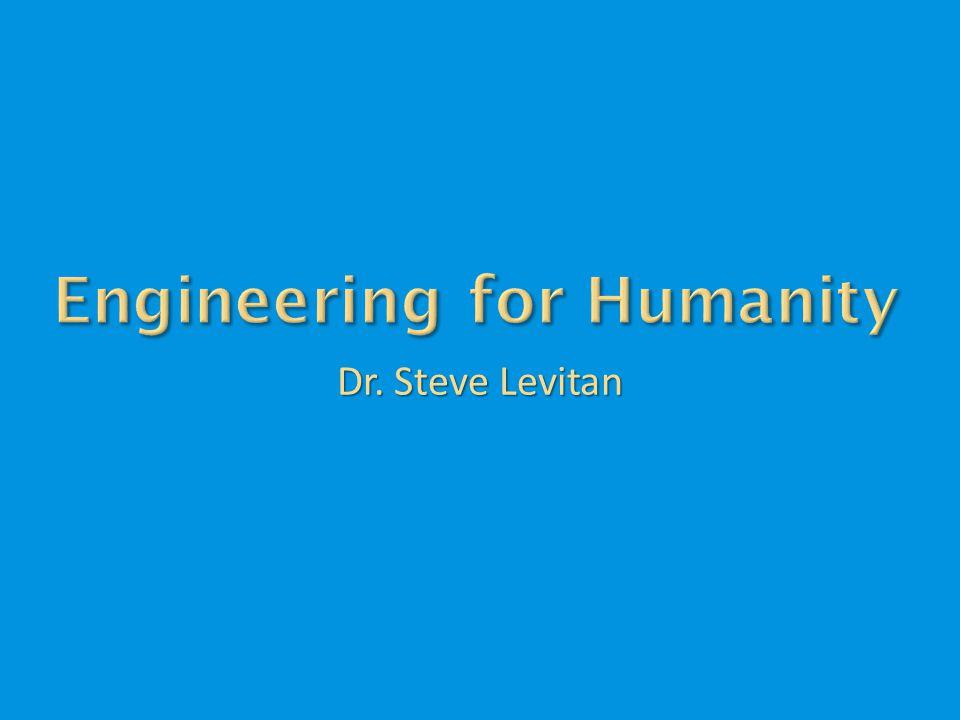Dr. Steve Levitan