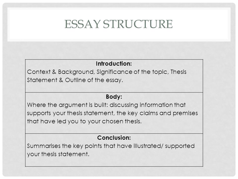 WRITING A GOOD INTRODUCTION These 3 questions will help you write a good introduction: What is the essay about.