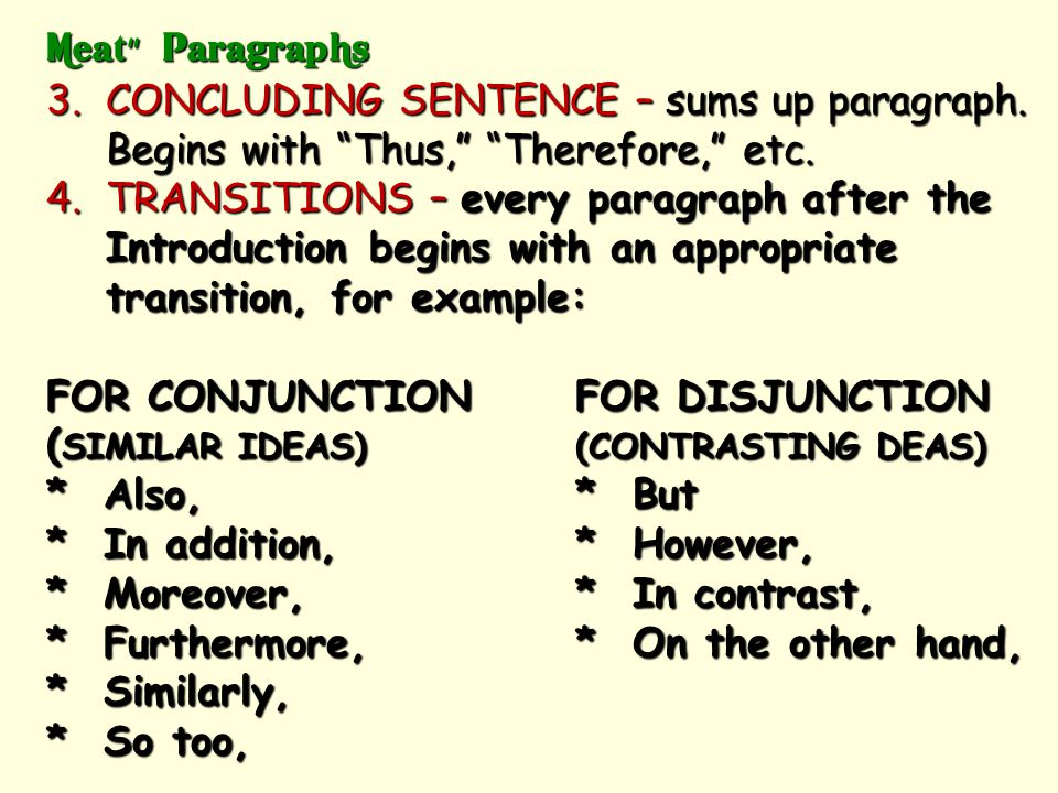 REMEMBER THE AP RULE OF 3!  3 ARGUMENTS IN EACH CATEGORY  3 PIECES OF EVIDENCE FOR EACH ARGUMENT  EVEN TRY FOR THREE MODES OF ANALYSIS (EX. CAUSE,