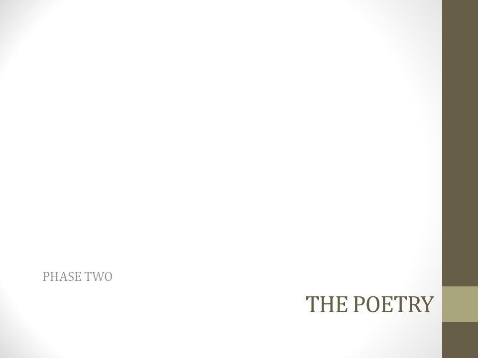 What Poems Don't Work.