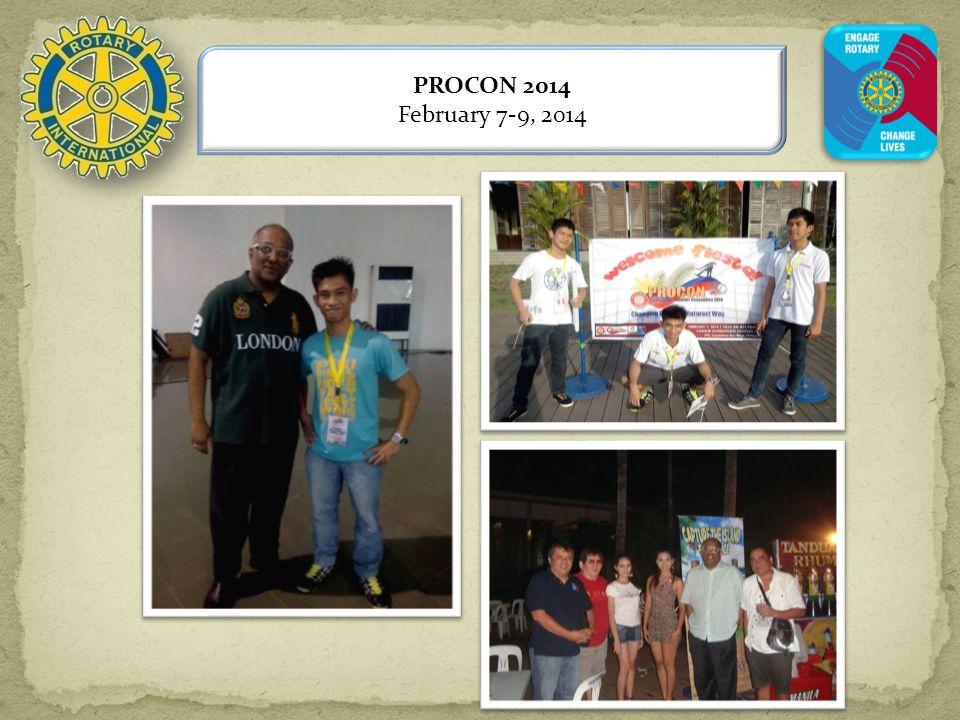 PROCON 2014 February 7-9, 2014