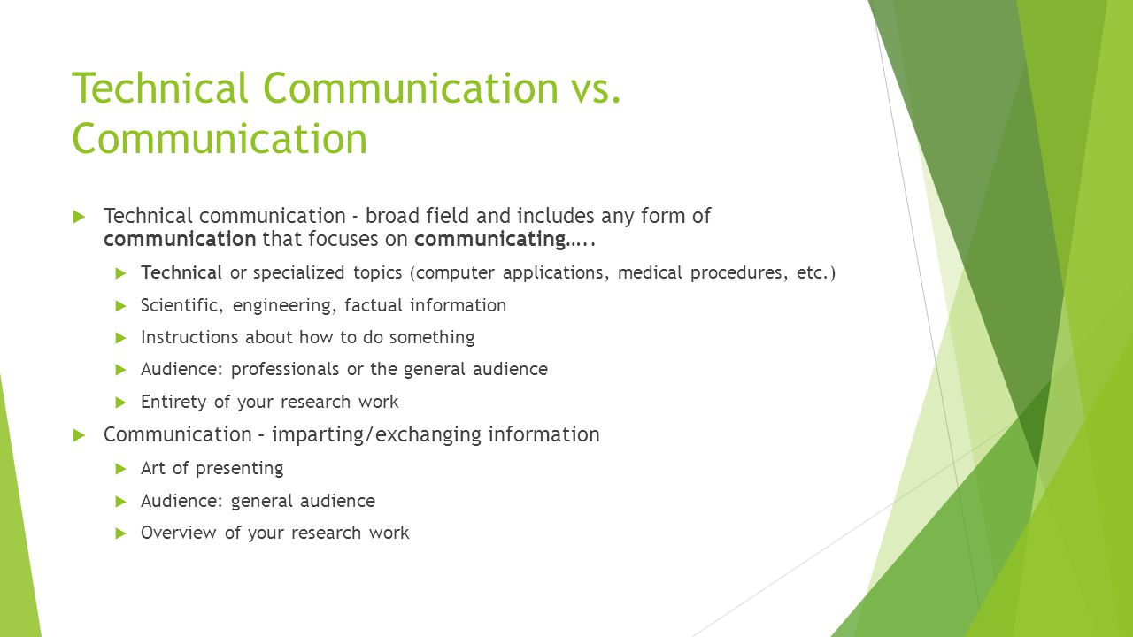 Why is technical communication/communication important?