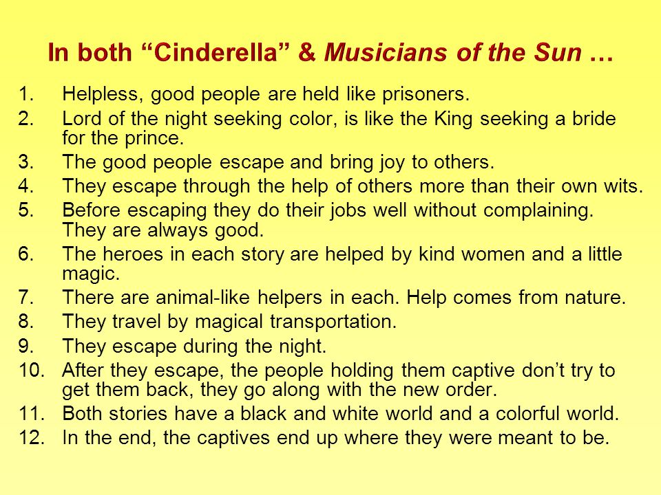 1.Helpless, good people are held like prisoners.