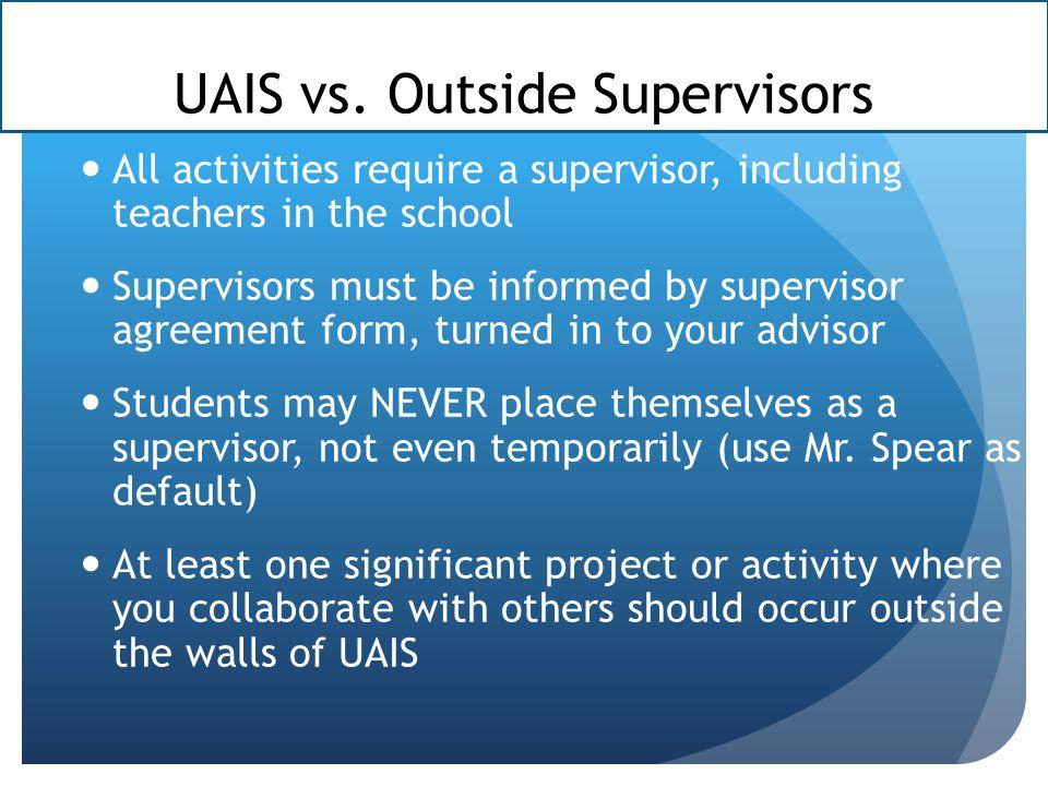 UAIS vs.