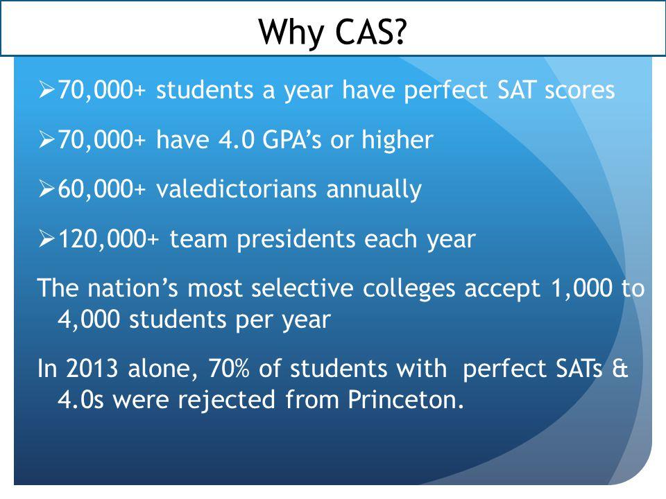 Why CAS.