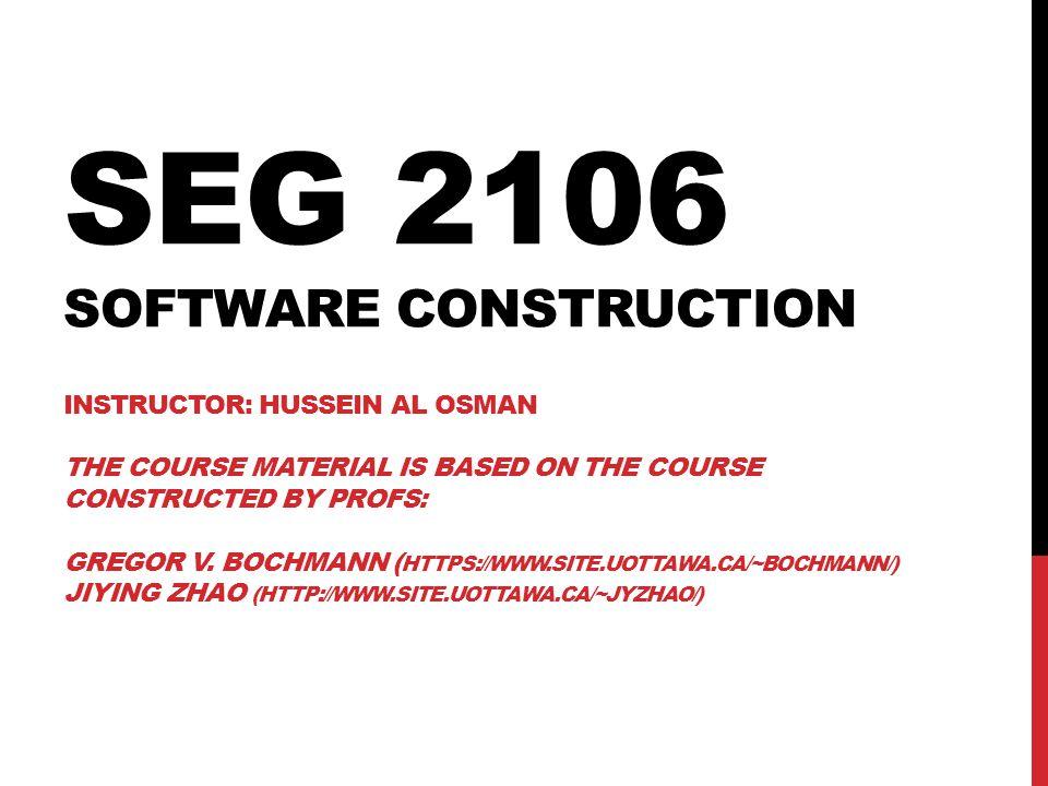 NET STRUCTURES A sequence of events/actions: Concurrent executions: e1 e2e3 e1 e2 e3 e4 e5 172 SEG2106 – Winter 2014 – Hussein Al Osman