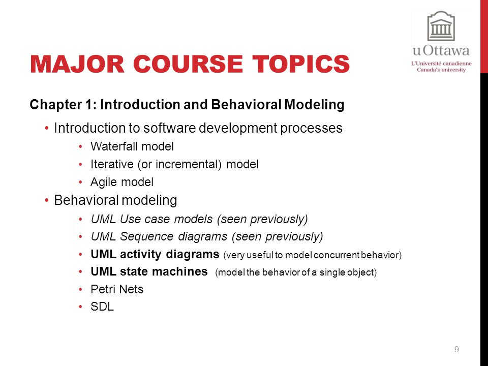 MAJOR COURSE TOPICS Chapter 2: Compilers, formal languages and grammars Lexical analysis (convert a sequence of characters into a sequence of tokens) Formal languages Regular expressions (method to describe strings) Deterministic and Non-deterministic Finite Automata Syntax analysis Context-free grammar (describes the syntax of a programming language) Syntactic analysis Syntax trees 10
