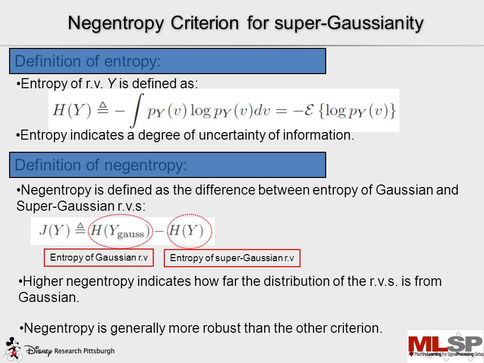 Why do we need non-Gaussianity measures? The reasoning is briefly grounded on 2 points: 1.The distribution of independent random variables (r.v.s.) wi
