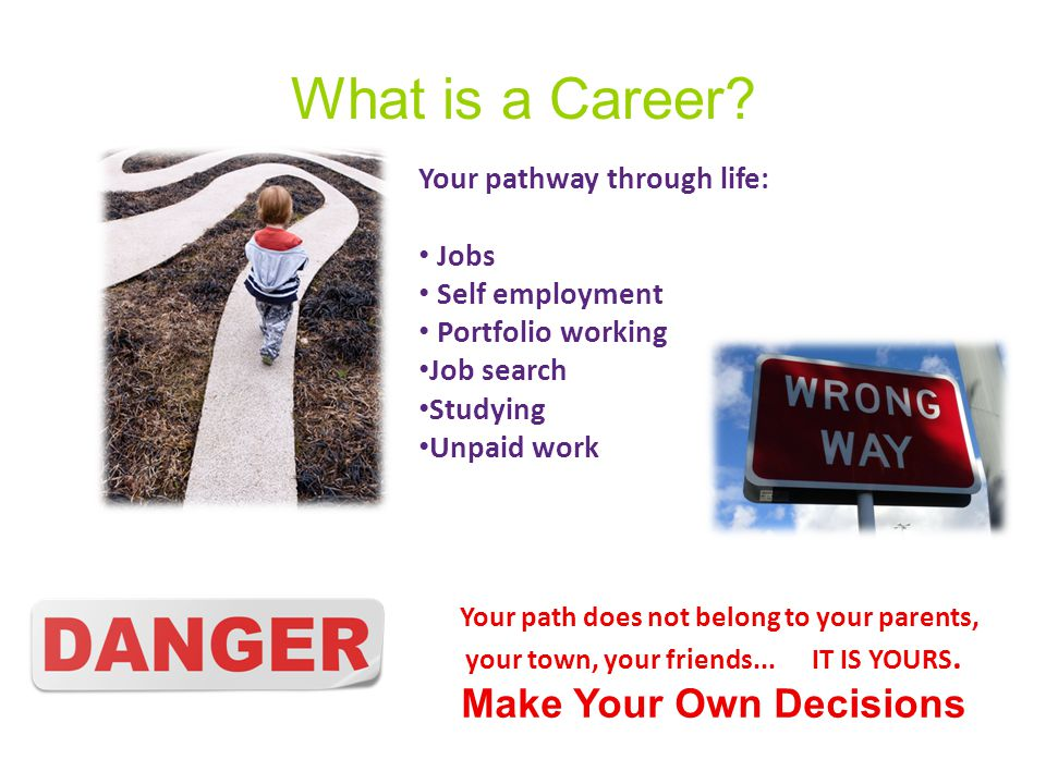 What is a Career.