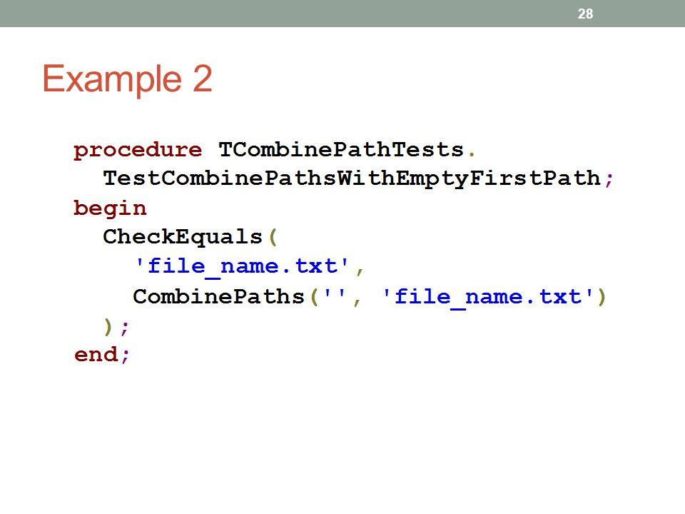 Example 2 28