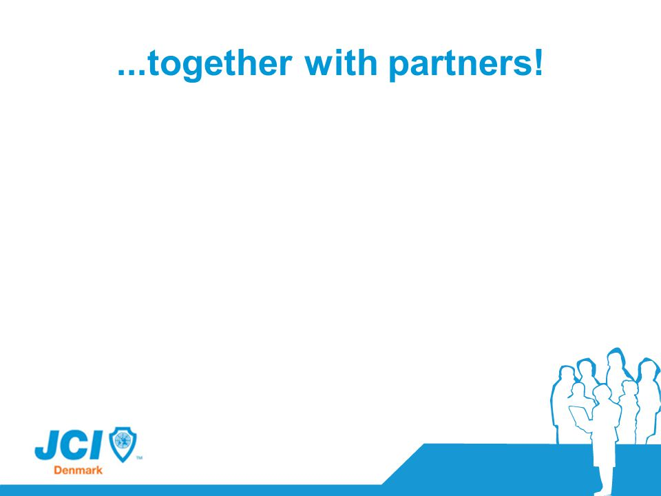 ...together with partners!