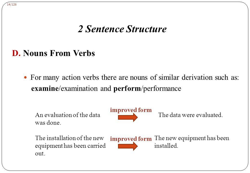 14/126 2 Sentence Structure D.