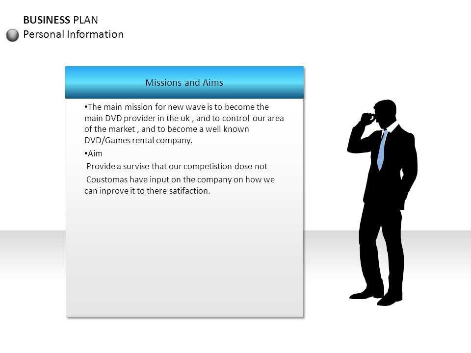 BUSINESS PLAN Summary Who are we .
