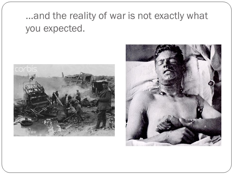 Hemingway served in the war, but spent the majority of his time in an army hospital.
