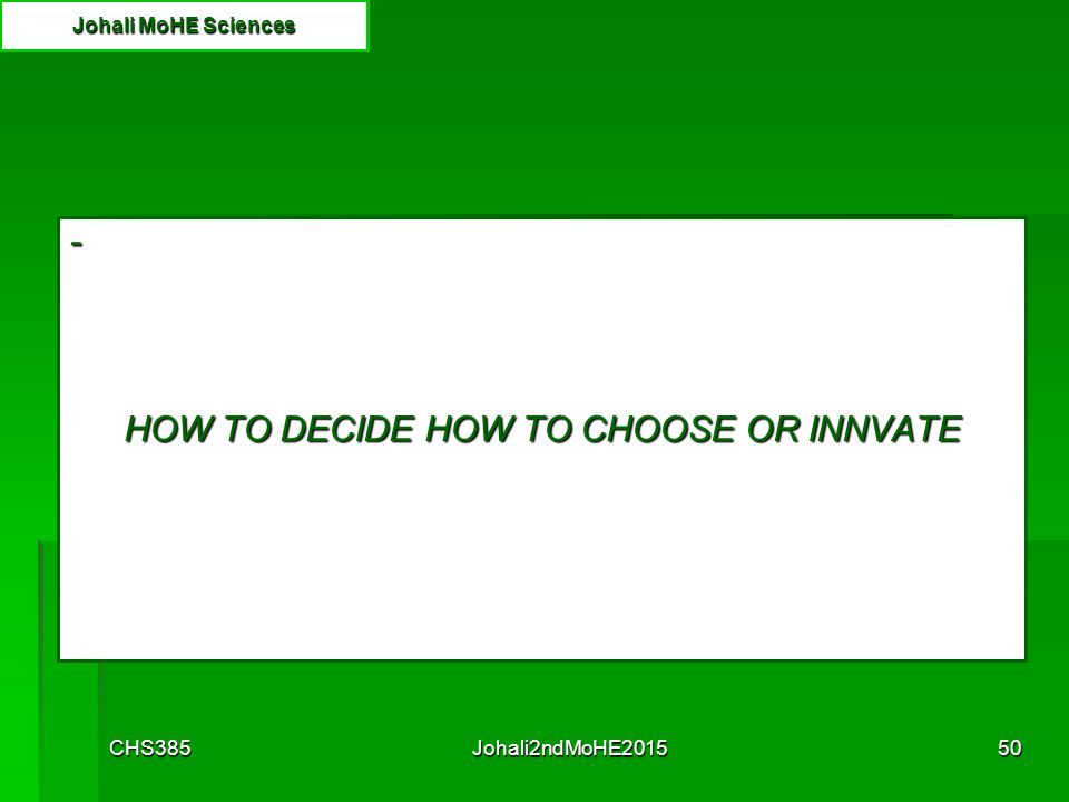 CHS385Johali2ndMoHE201549 http://www.academia.edu/1267765/Understanding_the_Adult_Learners_Motivation_and_Barriers_to_Learning Learning conditions and