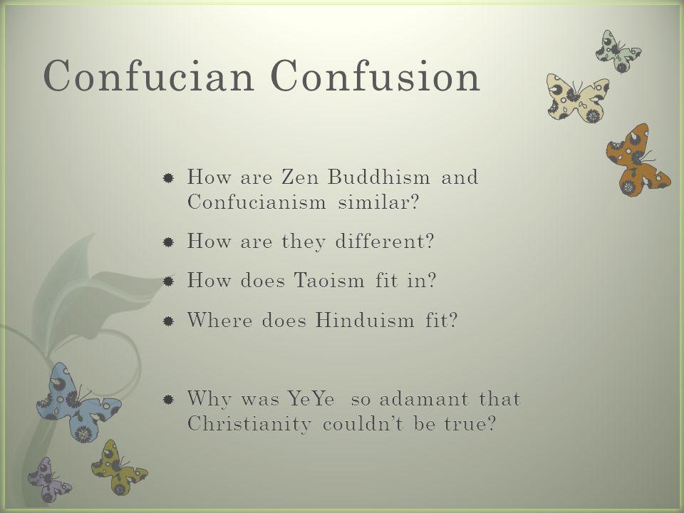 Confucian Confusion