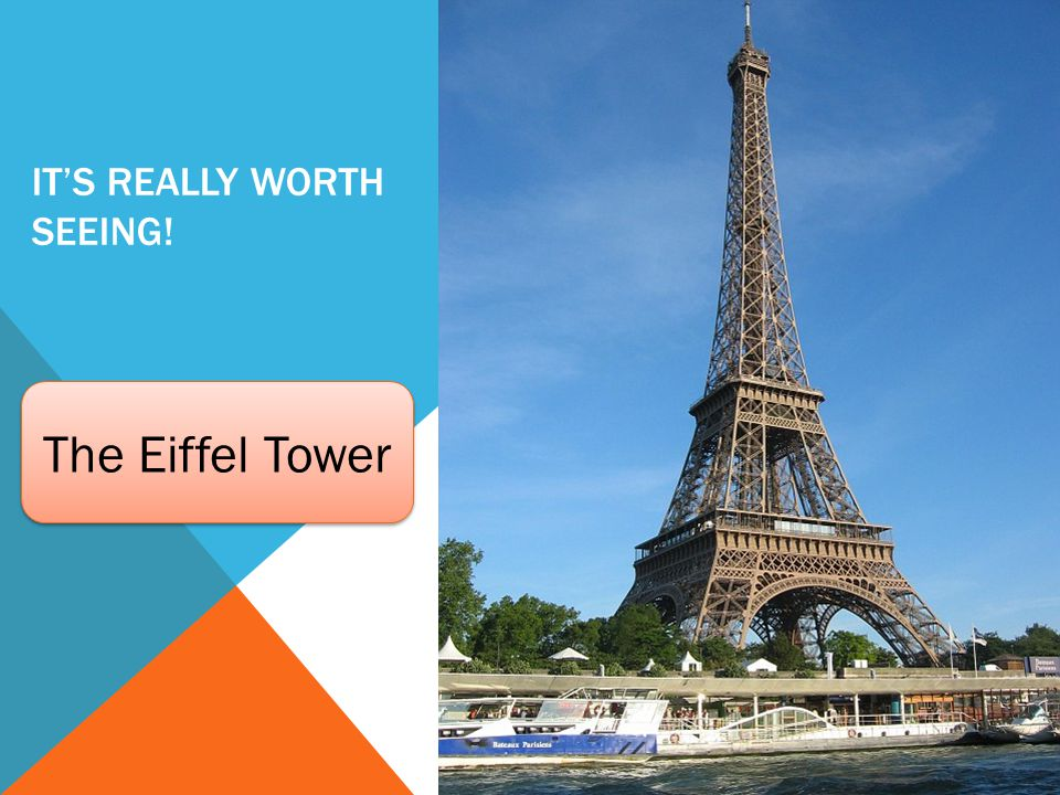 IT'S REALLY WORTH SEEING! The Eiffel Tower