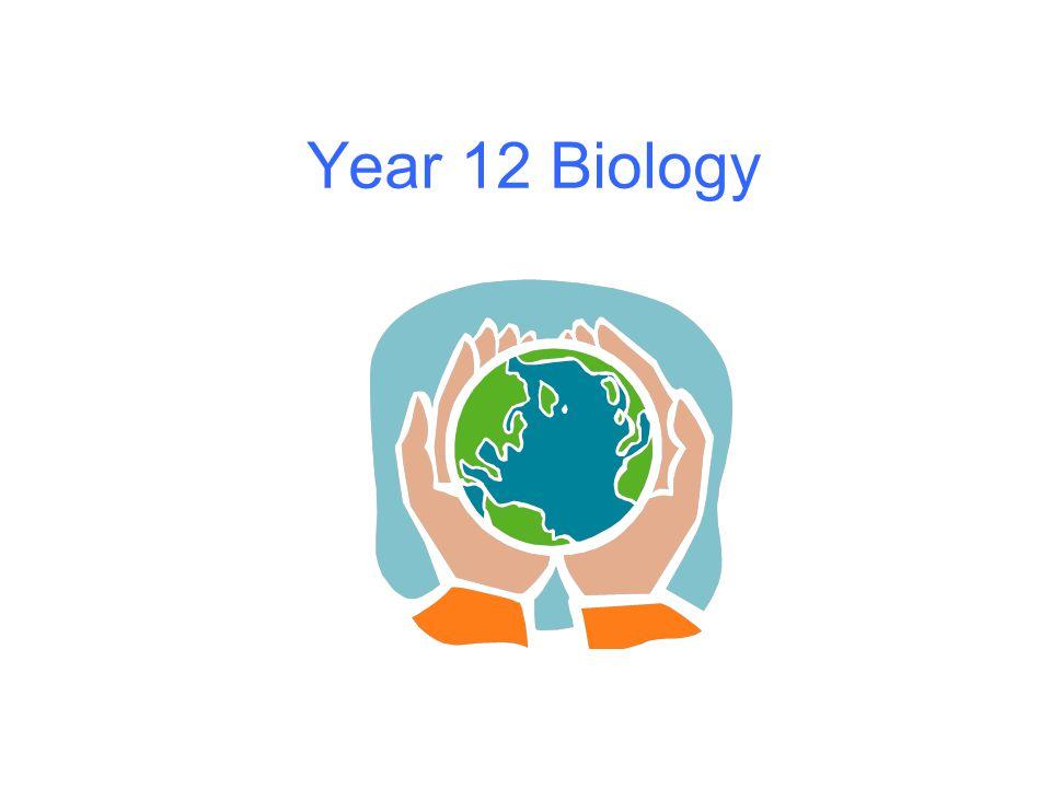 Year 12 Biology