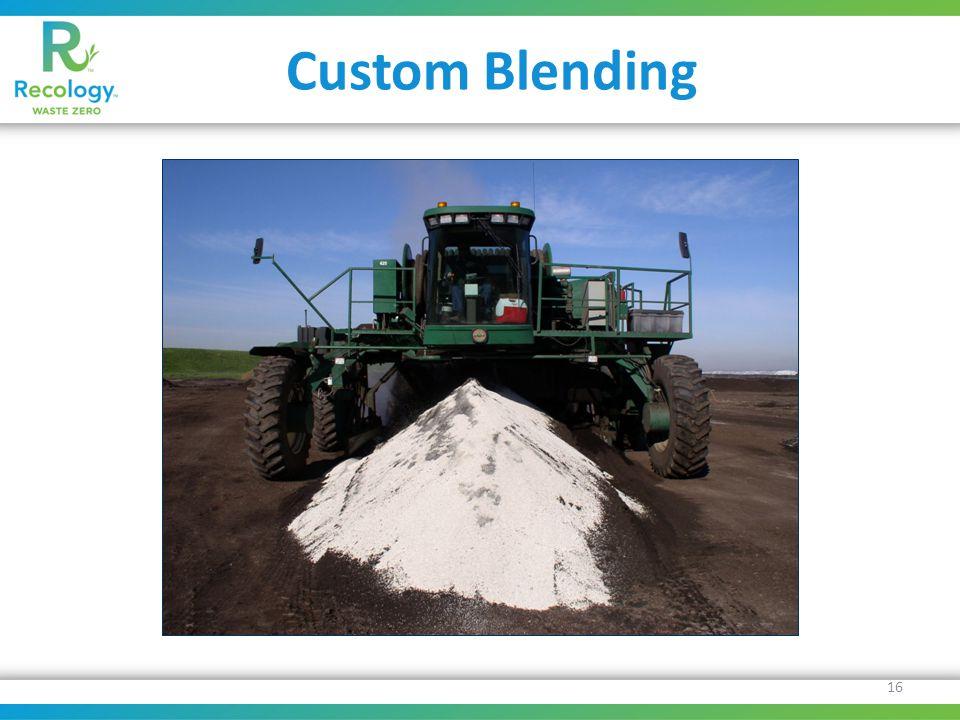 Custom Blending 16