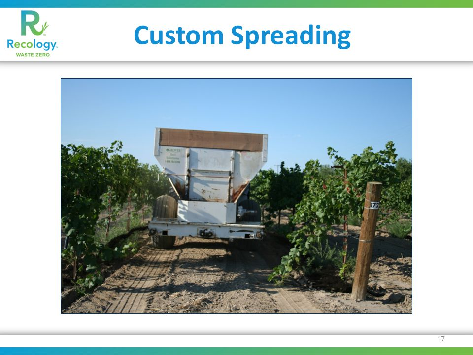 Custom Spreading 17