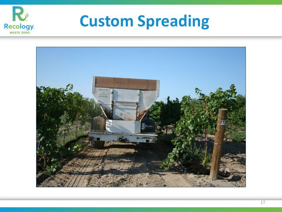 Custom Spreading 17