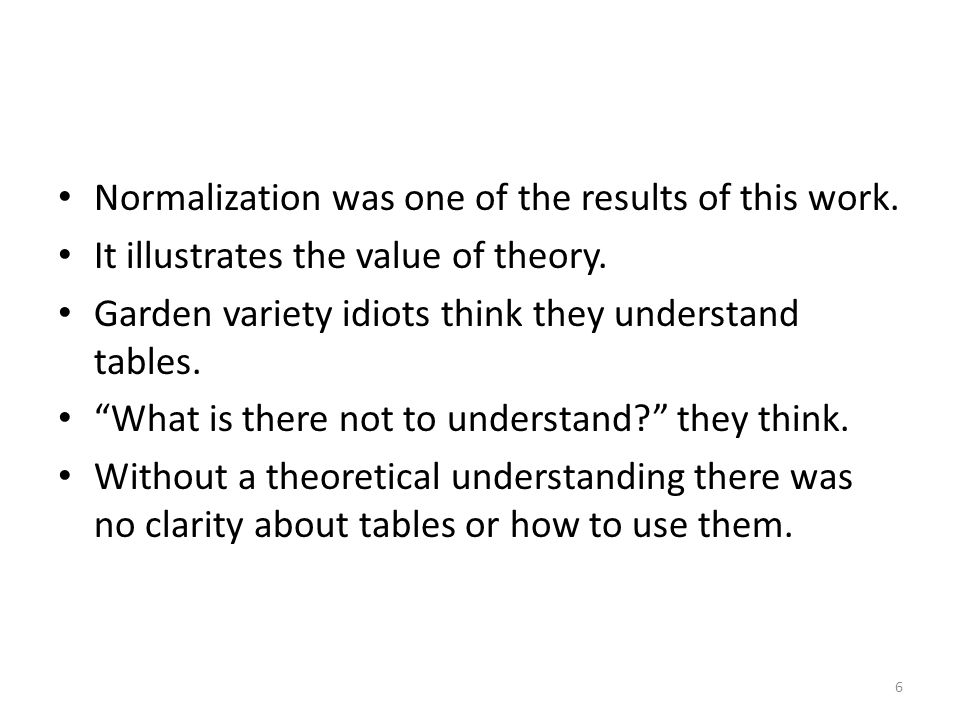 As you may already have noted, relational algebra is not the same as arithmetic algebra.