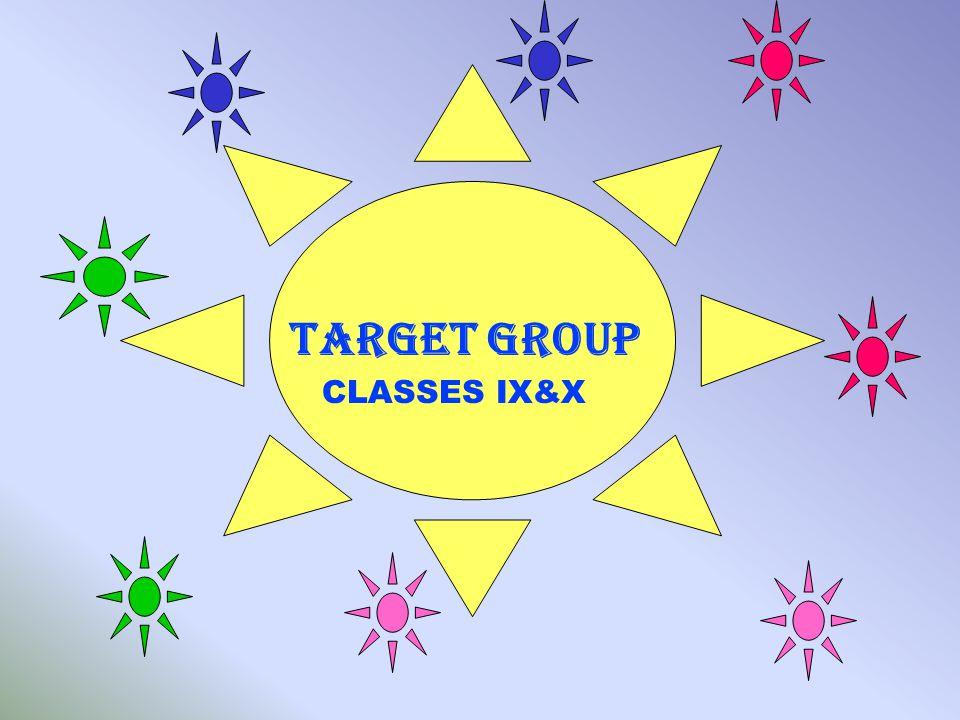 TARGET GROUP CLASSES IX&X