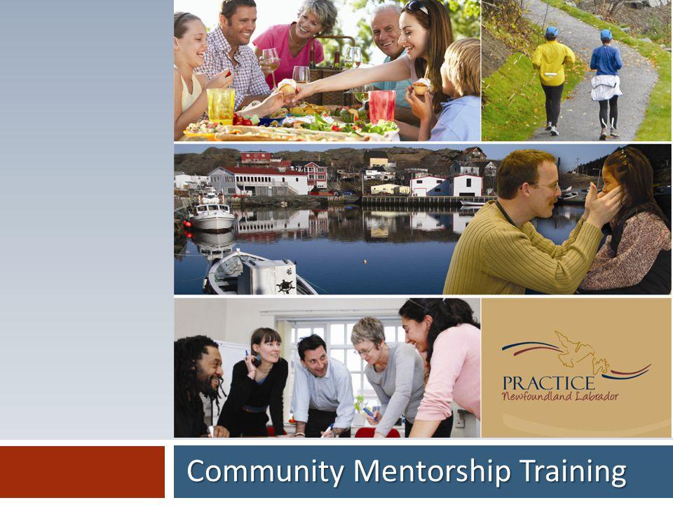 Community Mentorship Training